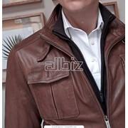 Химчистка пиджаков замшевых, кожаных фото