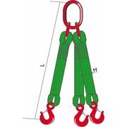 Трехветвевой строп текстильный 3СТ-4 ТН, 10 м фото