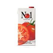 Сок томатный с мякотью с солью, торговая марка №1 фото