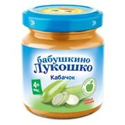 Б.лукошко пюре из кабачков (с 4 мес) , б/сах., б/соли 100г фото
