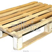 Поддоны деревянные под заказ /по спецификации заказчика фото