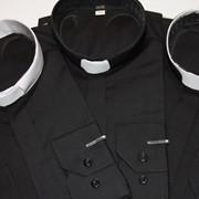 Пасторские рубашки с колораткой фото