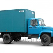 Автомобиль-фургон с промтоварным кузовом ЛЮБАВА АФПK 3309 фото