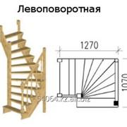 Лестница левоповоротная КЛ - 1 фото