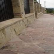Фасадный камень натуральный фото