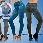 Леджинсы Slim Jeggings утепленные с карманами, комплект из 3-х цветов, Оригинал фото
