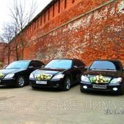 Заказ свадебьного кортежа в Нижнем Новгороде фото