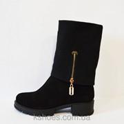 Ботинки женские замшевые Kento 2073 фото