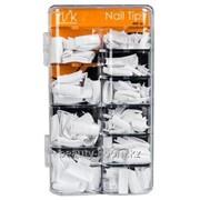 Типсы стилетообразные без к/з Стилет, мод.37 W Irisk, бокс 200 шт. белые, Артикул Т206-01 фото