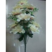 Цветок искусственный 12 цветков хризантемы фото