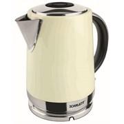 Чайник электрический Scarlett SC-EK21S04 Ваниль 1.7л фото