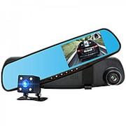 Автовидеорегистратор зеркало + камера HAD-39 фото