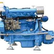 Судовой двигатель TDME-490 58 л.с. с редуктором фото