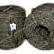 Веревка Пенька большая (400гр) крученое плетение конопляной нити (400м) №703165 фото
