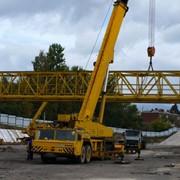 Монтаж мостовых кранов фото