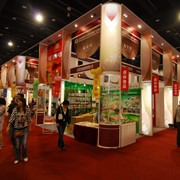 Посещение выставки в Китае фото