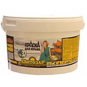 Святозар-37 цветная краска для крыш. 10л/10кг Цветная, акриловая. фото