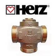 Трехходовой термосмесительный клапан Herz Teplo Mix 61град для котла фото