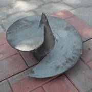 Литой наконечник для производства широколопастных полуторавитковых винтовых свай фото