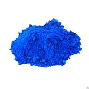 Пигмент для бетона синий фото