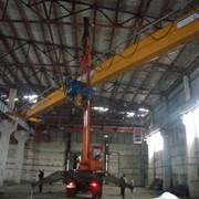 Монтаж кранов и кранового оборудования фото