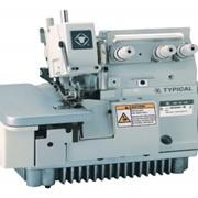Промышленные оверлоки Промышленный 1-игольный 3-х ниточный оверлок TYPICAL GN2000-3B фото