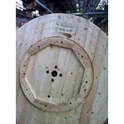 Барабан кабельный деревянный 22а фото