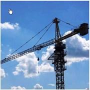 Кран башенный производства КНР и ЕС. фото