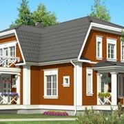 Дом деревянный финский ЮККА модель М-236-1 фото