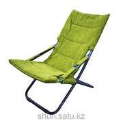 Шезлонг, 55 * 115 см, зеленый фото