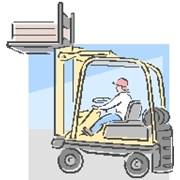 Обучение водителей электропогрузчика фото