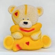 Копилка Тедди с подушкой № 11239 фото