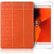 Чехол Verus Crocodile Leather Case Orange для iPad Air (пленка в комплекте) фото