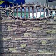 """Забор железобетонный """"Горная гряда"""" не требует покраски фото"""