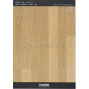 Паркетная доска KARELIA OAK Story 138 BRUSHED NEW ARCTIC фото