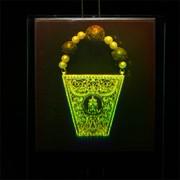 Сувенир голографический с подсветкой настольный Дары волхвов фото