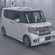 Микровэн HONDA N BOX CUSTOM кузов JF1 класса минивэн модификация SS PACKAGE гв 2016 пробег 76 т.км жемчужный фото