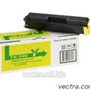 Тонер Kyocera TK-590Y (1T02KVANL0) фото