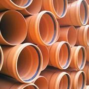 Труба канализационная 110х3,2х500 наружная НПВХ фото