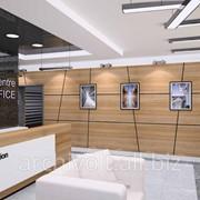 Дизайн интерьера административных и офисных помещений фото