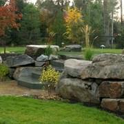 Бутовый камень для ландшафта фото