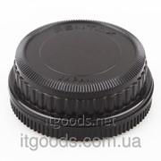 Крышка камеры + задняя крышка объектива Pentax PK K20D K10D K200D K100 TW 2403 фото