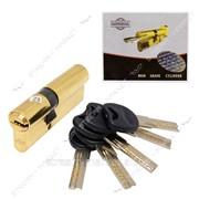 Секрет латунный Imperial С80 (со смещением 30/50) (лазер, ключ/ключ, золото) (5 ключей) (C80 30/50РВ) №329463 фото