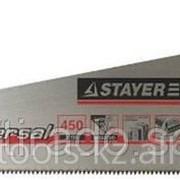 Ножовка Stayer Universal по дереву, двухкомпонентная рукоятка, закаленный Код: 1510-40_z01 фото