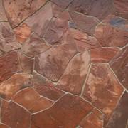 Песчаник терракотово-красный толщ. 2,0 см фото