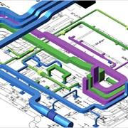 Обслуживание инженерных систем. фото
