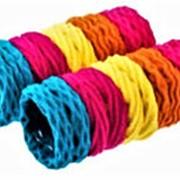 Резинка 905444 BBox тканая д/волос d=3,5 см 6и цветн. микс в уп. 20 шт. ( цена за 1 уп.) фото