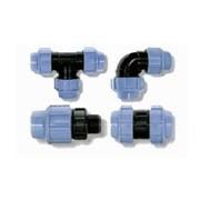ПЕ фитинги для полиэтиленовых труб (вода) фото