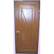 Двери стальные с декоративным покрытием стальные с 2-сторонним MDF фото