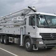 Аренда автобетононасоса 23 метра PUTZMEISTER Mercedes Benz фото